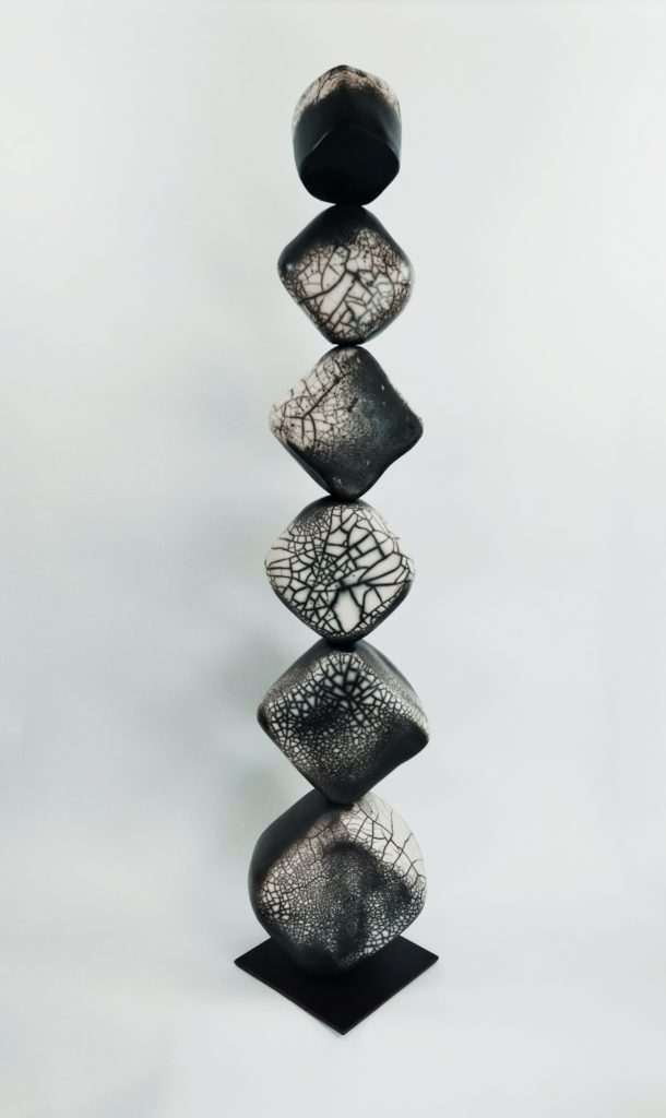Céramique Totem AbeRaku